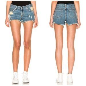 Rag & Bone Cutoff Jean Denim Shorts in Winnie